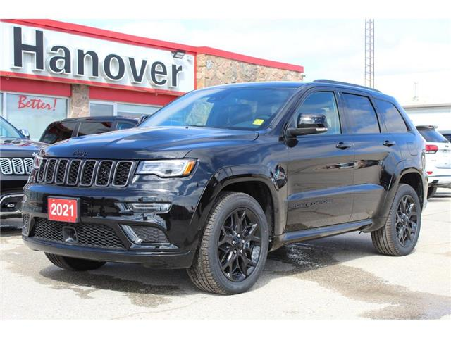 2021 Jeep Grand Cherokee Limited (Stk: 21-145) in Hanover - Image 1 of 19