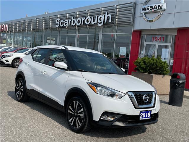 2018 Nissan Kicks SV (Stk: K21010A) in Scarborough - Image 1 of 8