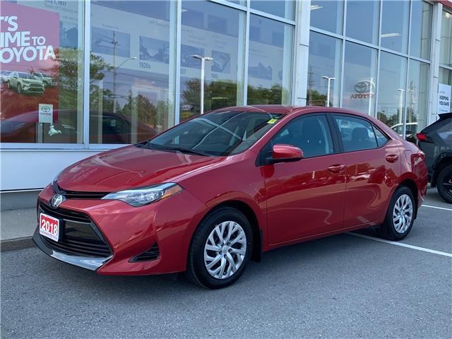 2018 Toyota Corolla LE (Stk: CX068A) in Cobourg - Image 1 of 21