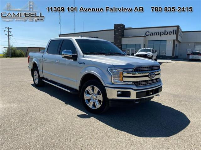 2018 Ford F-150 Lariat (Stk: U2400A) in Fairview - Image 1 of 15