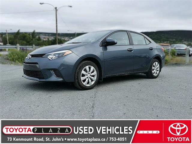 2016 Toyota Corolla LE (Stk: LP2819) in St. Johns - Image 1 of 4
