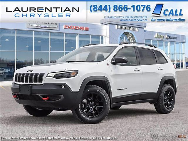 2021 Jeep Cherokee Trailhawk (Stk: 21002D) in Greater Sudbury - Image 1 of 23