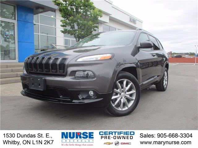 2018 Jeep Cherokee North (Stk: 21K111A) in Whitby - Image 1 of 25