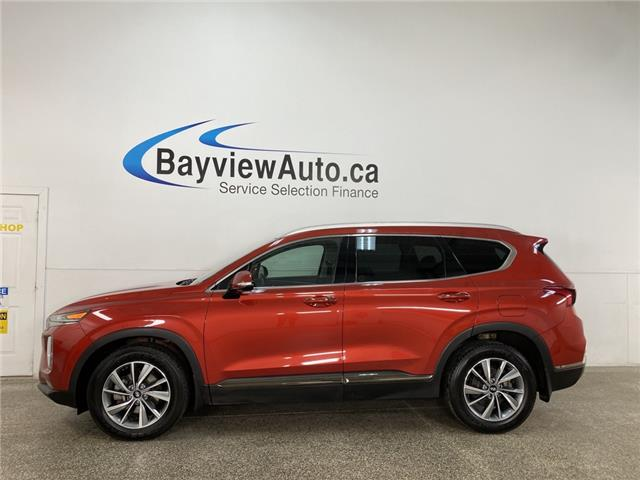 2019 Hyundai Santa Fe 2.0T LUXURY - LEATHER! AWD! PANO ROOF! (Stk: 38062W) in Belleville - Image 1 of 26