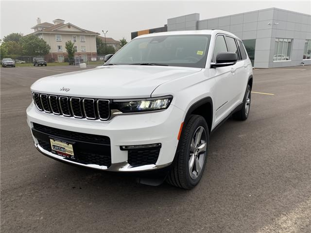 2021 Jeep Grand Cherokee L Limited (Stk: 21-223) in Ingersoll - Image 1 of 21