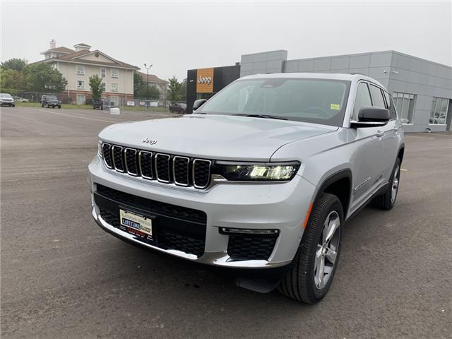 2021 Jeep Grand Cherokee L Limited (Stk: 21-227) in Ingersoll - Image 1 of 21
