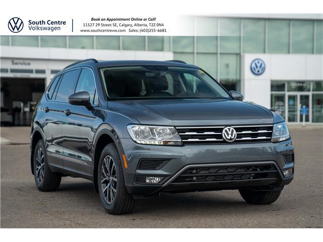 2021 Volkswagen Tiguan Comfortline (Stk: 10329) in Calgary - Image 1 of 40