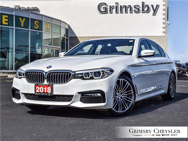 2018 BMW 540i xDrive (Stk: U5092) in Grimsby - Image 1 of 37