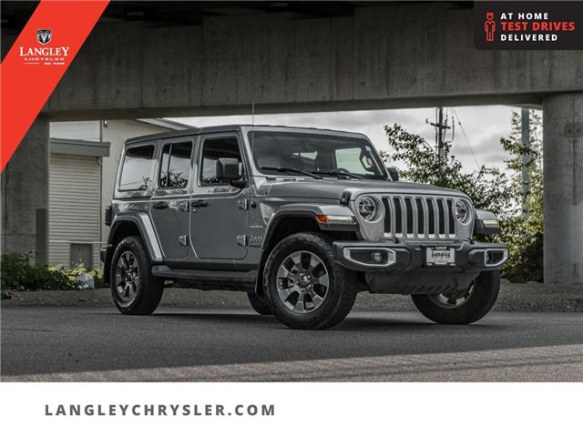 2018 Jeep Wrangler Unlimited Sahara (Stk: LC0879) in Surrey - Image 1 of 26