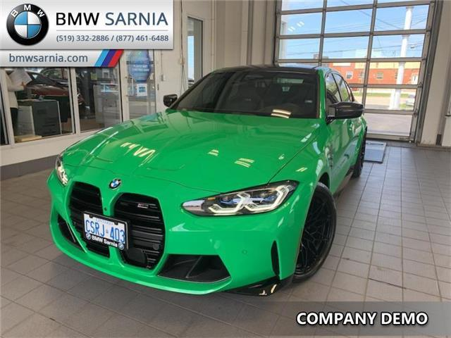 2021 BMW M3 Competition (Stk: B2122) in Sarnia - Image 1 of 8