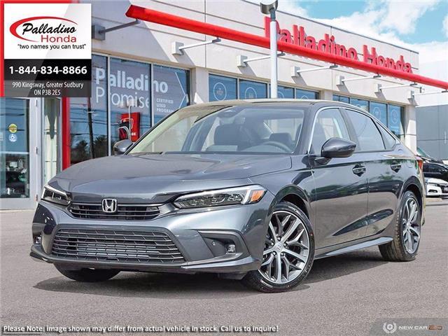 2022 Honda Civic Sedan Touring (Stk: 23382) in Greater Sudbury - Image 1 of 23