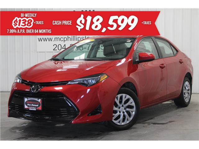 2018 Toyota Corolla LE (Stk: P243737A) in Winnipeg - Image 1 of 25