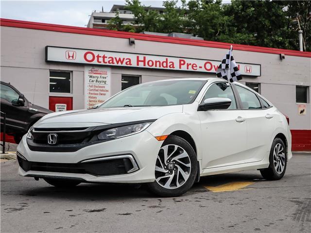 2019 Honda Civic EX (Stk: H91250) in Ottawa - Image 1 of 27