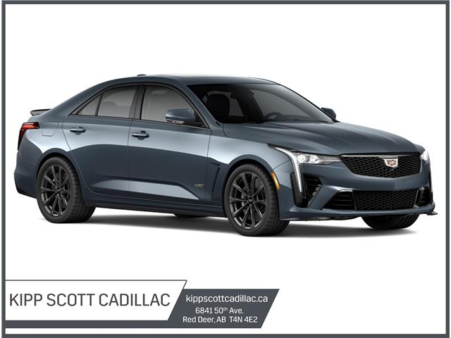 New 2022 Cadillac CT4-V V-Series Blackwing Only 1 Available - Red Deer - Kipp Scott GMC Cadillac Buick