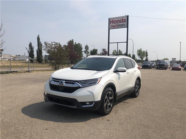 2018 Honda CR-V Touring (Stk: H14-9553B) in Grande Prairie - Image 1 of 28