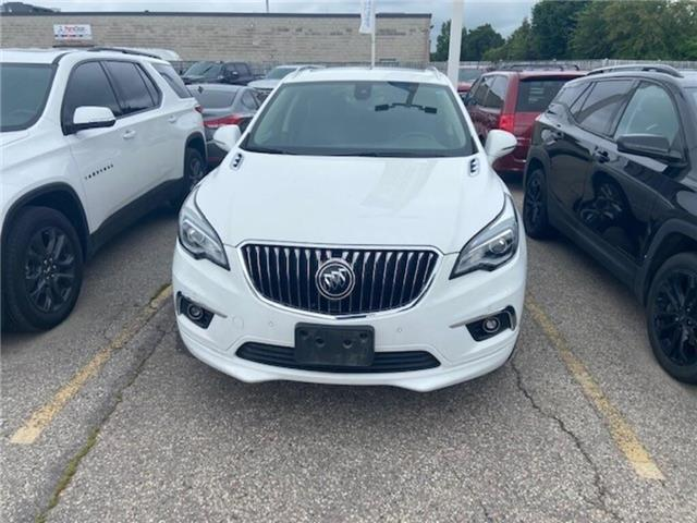2018 Buick Envision AWD, Premium II, MOONROOF, NAV, 19'S, POWER LIFT (Stk: 245365A) in Milton - Image 1 of 2