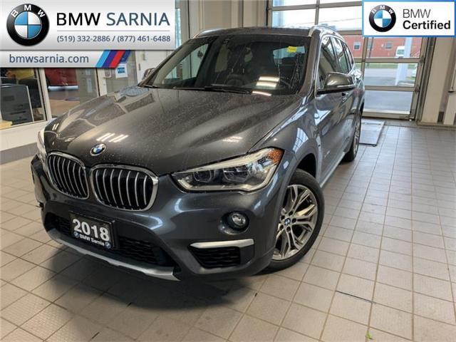 2018 BMW X1 xDrive28i (Stk: XU426) in Sarnia - Image 1 of 10