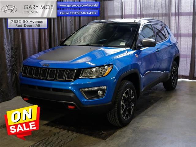 2018 Jeep Compass Trailhawk (Stk: 2TU2404A) in Red Deer - Image 1 of 23