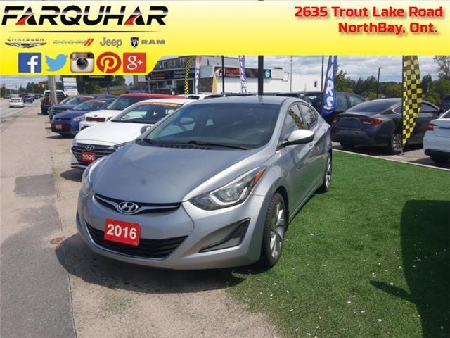 2016 Hyundai Elantra GL (Stk: 21151B) in North Bay - Image 1 of 30