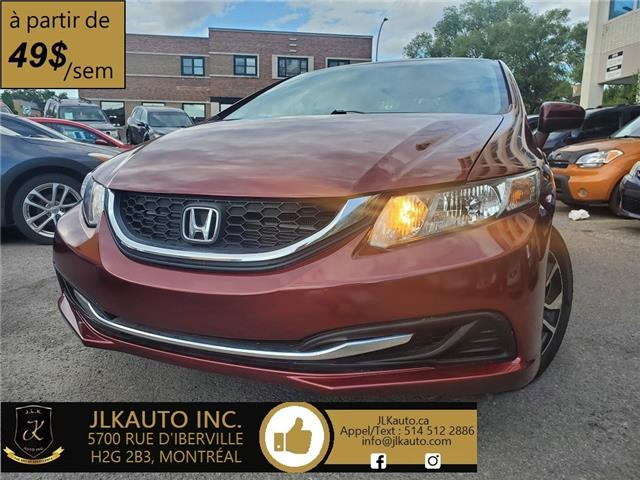2015 Honda Civic EX (Stk: K613) in Montréal - Image 1 of 18