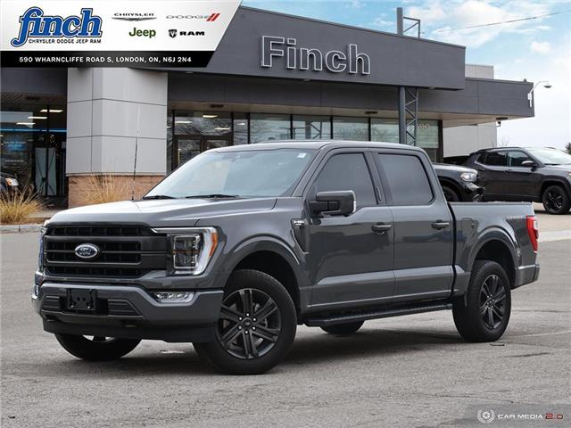 2021 Ford F-150 Lariat (Stk: 102057) in London - Image 1 of 27