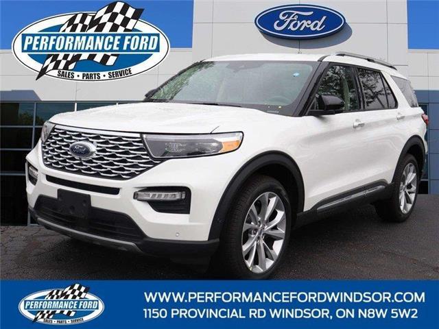 2021 Ford Explorer Platinum (Stk: EX73605) in Windsor - Image 1 of 17