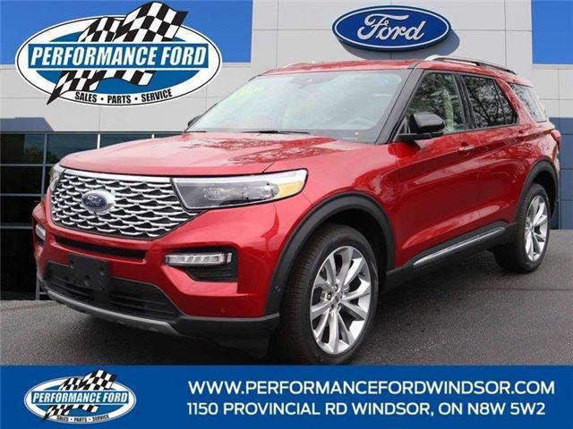 2021 Ford Explorer Platinum (Stk: EX84952) in Windsor - Image 1 of 17