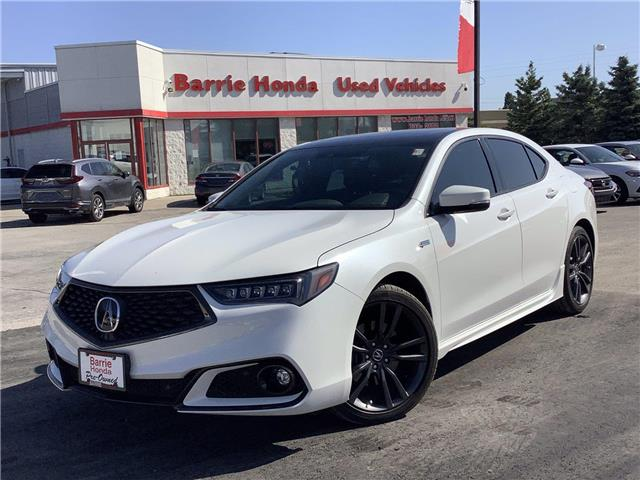 2020 Acura TLX A-Spec (Stk: 11-21192A) in Barrie - Image 1 of 25