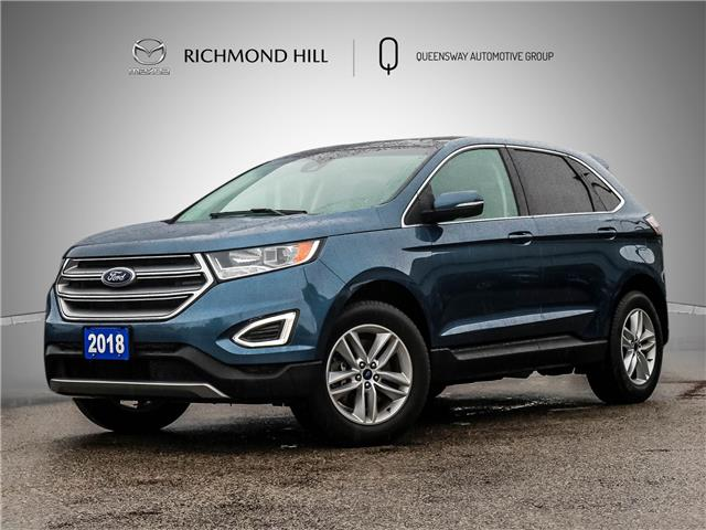 2018 Ford Edge SEL (Stk: 21-551DTA) in Richmond Hill - Image 1 of 25