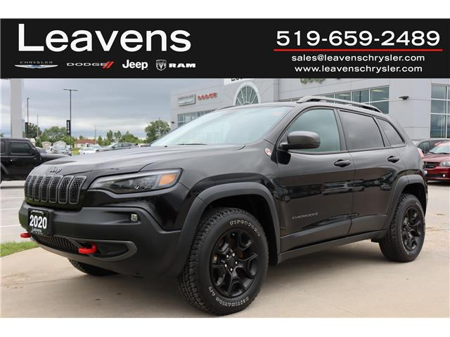 2020 Jeep Cherokee Trailhawk (Stk: LC21248A) in London - Image 1 of 25