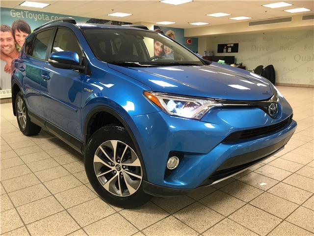 2018 Toyota RAV4 Hybrid LE+ (Stk: 211132A) in Calgary - Image 1 of 11