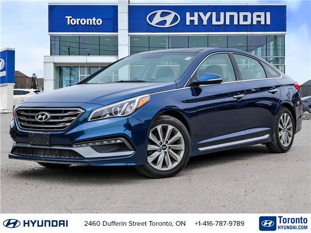 2016 Hyundai Sonata Sport Tech (Stk: U07180) in Toronto - Image 1 of 30