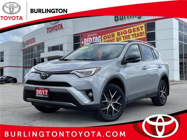 2017 Toyota RAV4 SE (Stk: U11597) in Burlington - Image 1 of 20