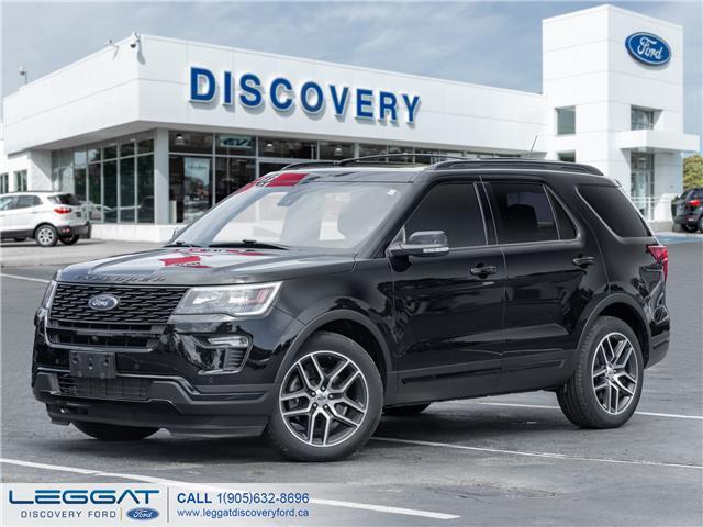 2018 Ford Explorer Sport (Stk: 18-95589-L) in Burlington - Image 1 of 24