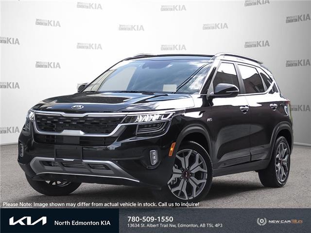 2022 Kia Seltos SX Turbo w/Black Interior (Stk: 22SE1993) in Edmonton - Image 1 of 23