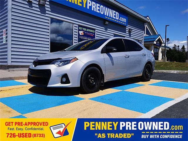 2014 Toyota Corolla S (Stk: LP4777A) in Mount Pearl - Image 1 of 16