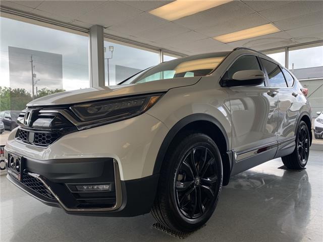 2021 Honda CR-V Black Edition (Stk: 21102) in Simcoe - Image 1 of 13