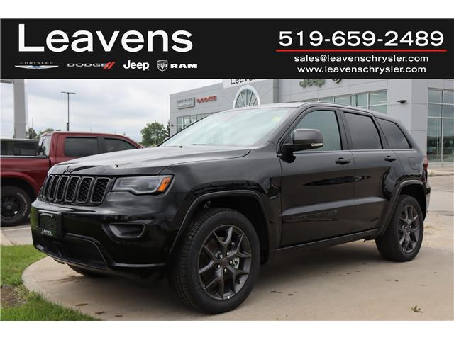 2021 Jeep Grand Cherokee Limited (Stk: LC21292) in London - Image 1 of 25