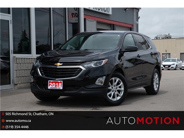 2018 Chevrolet Equinox LT (Stk: 211262) in Chatham - Image 1 of 25