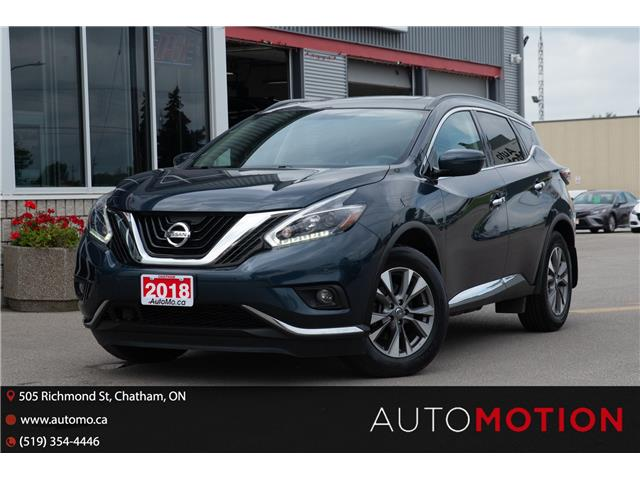 2018 Nissan Murano  (Stk: 211276) in Chatham - Image 1 of 28