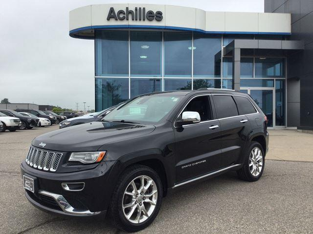 2014 Jeep Grand Cherokee Summit (Stk: K1139A) in Milton - Image 1 of 20