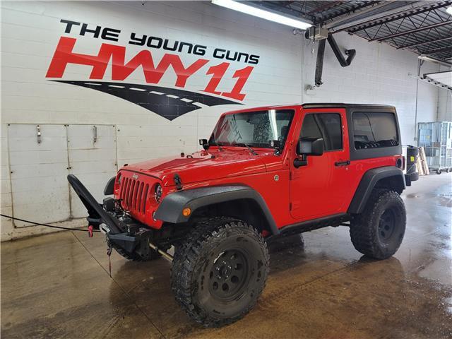 2017 Jeep Wrangler Sport (Stk: 564789A) in Orillia - Image 1 of 20