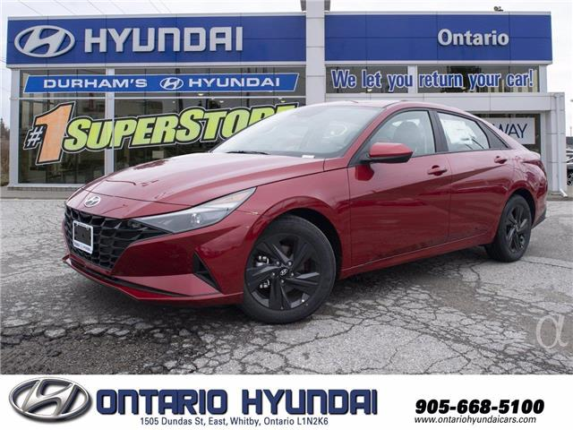 2021 Hyundai Elantra Preferred (Stk: 13-086994) in Whitby - Image 1 of 20