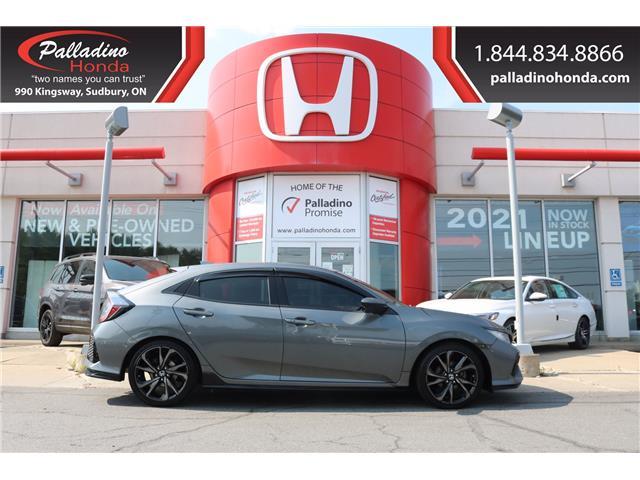 2017 Honda Civic Sport (Stk: BC0187) in Greater Sudbury - Image 1 of 32