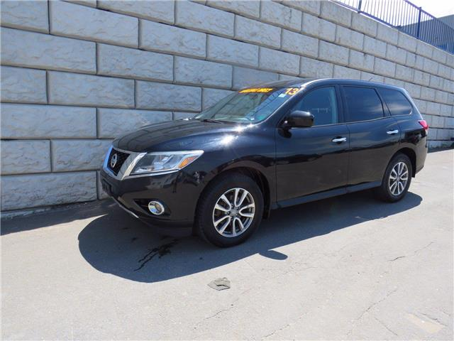 2013 Nissan Pathfinder S  AC  Power Everything  3rd Row Reclining Seats (Stk: D10606A) in Fredericton - Image 1 of 17