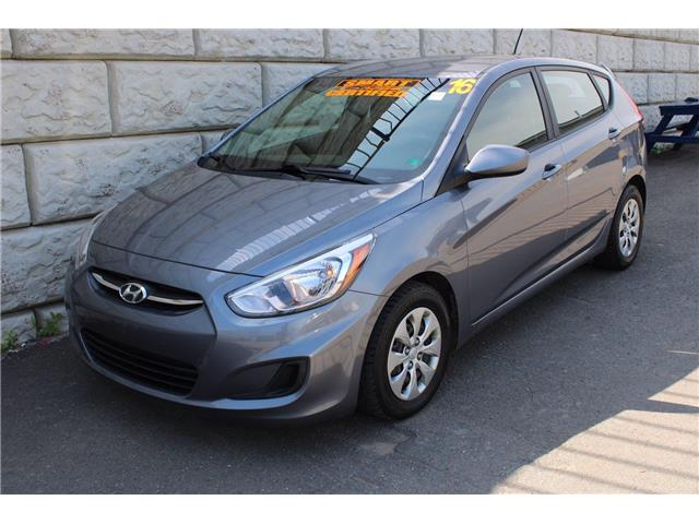 2016 Hyundai Accent GL, CRUISE, AC, REMOTE ENTRY (Stk: D10834P) in Fredericton - Image 1 of 16