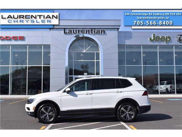 2018 Volkswagen Tiguan Highline (Stk: 20423A) in Greater Sudbury - Image 1 of 37