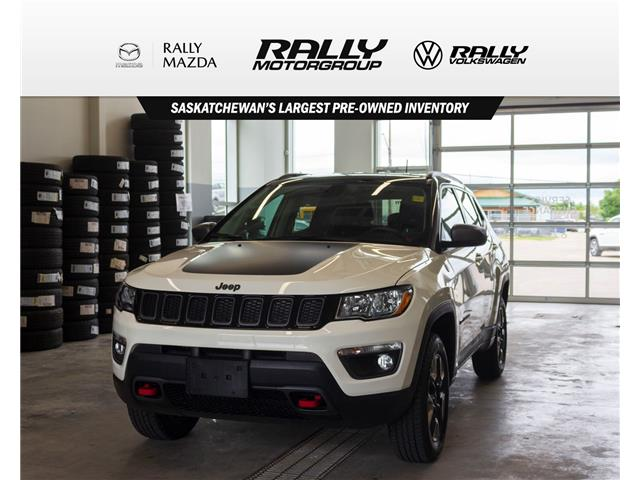 2018 Jeep Compass Trailhawk (Stk: V1619) in Prince Albert - Image 1 of 15