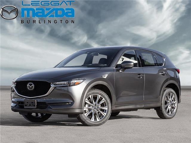 2021 Mazda CX-5 Signature (Stk: 215095) in Burlington - Image 1 of 23