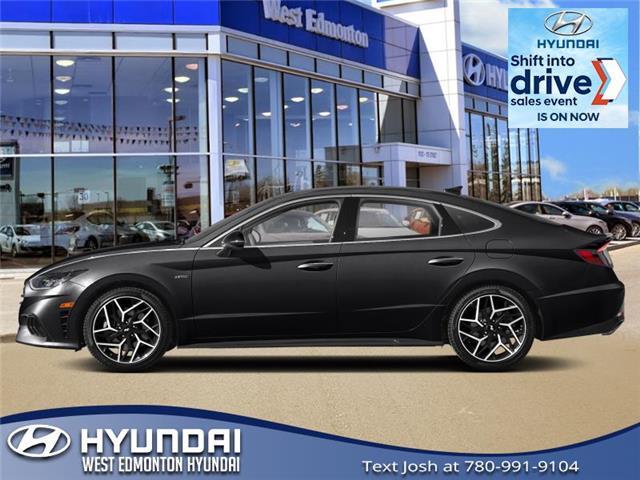2021 Hyundai Sonata N Line (Stk: SN12025) in Edmonton - Image 1 of 1